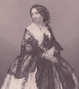 Arabella Goddard (1836-1922), in Frankreich geborene und gestorbene Lieblingspianistin des Londoner Publikums, verheiratet mit dem einflußreichen Kritiker J. W. Davison (1813-1885). Sie hob 1868 Mendelssohns Sextett aus der Taufe. 1880 zog sie sich ins Privatleben zurück. Stich von Daniel J. Pound (fl. 1842-1877) nach einer Daguerrotypie des Starphotographen J. J. E. Mayall (i. e. Jabez Meal, 1813-1901), 1859.